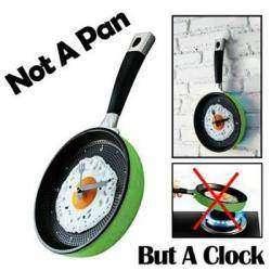 Настенные часы-сковородка