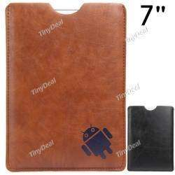 Universal Synthetic Leather Case Cover Shell Pouch Bag for 7