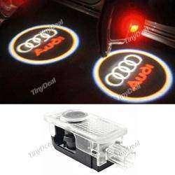 Подсветка дверей с логотипом автомобиля AUDI