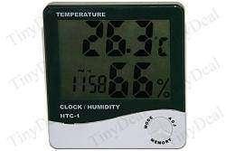 Часы + термометр + гигрометр