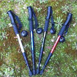 Треккинговая палка-трость или костыль на костыле