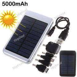 Внешняя батарея с солнечной панелью
