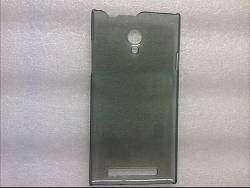 Защитный бампер для смартфонов THL T6s и THL T6pro, черный и прозрачный.