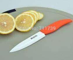 Обзор большого 5'' керамического ножа Bestlead на кухню