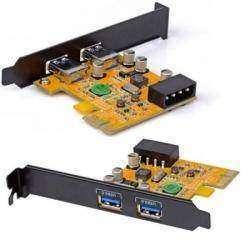 ORICO PFU3-2P. Двухпортовая PCI-Express USB 3.0 карта.
