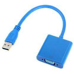 USB видеоадаптер, ну или почти видеокарта.