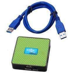 Четырехпортовый USB 3.0 хаб.