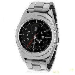 No.1 G4 – пожалуй самые дешевые умные часы с круглым циферблатом.