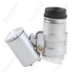 Лупа с подсветкой или мини микроскоп