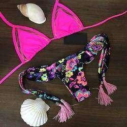 Женский купальник бикини, Brazilian Vintage Swimwear Bikini