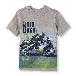 Обзор футболки с мотоциклом, для мальчика, размер XL (14)