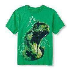 Футболка с динозавром, для мальчика XL (14)