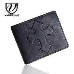 Мужской кошелек из настоящей кожи с Алиэкспресса