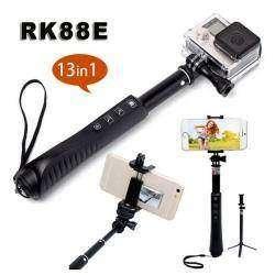 Большой набор для selfie RK88E 13 в 1, или хороший Bluetooth монопод штатив