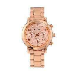 Часы под червонное золото (Rose Golden Dial)
