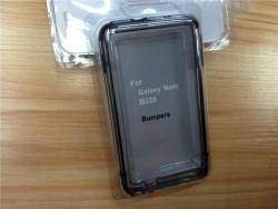 Обзор оригинального силиконового бампера для телефона Samsung Galaxy Note N7000