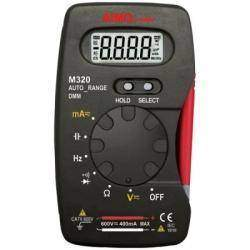 Цифровой электронный мультиметр AMIO meter M320 с автоматическим выбором пределов измерений