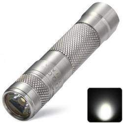 Обзор фонарика-наключника на AAA из нержавеющей стали