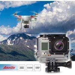 Довольно бюджетная экшен-камера Amkov AMK5000S