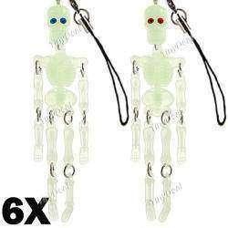 12 флуоресцентных скелетонов