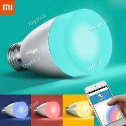 Обзор Xiaomi Yeelight Mi light  - Bluetooth лампа  или меняй свет и цвет со смартфона E27 6W