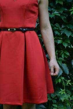 Красивое женское платье, которое подойдет многим, Retro Style Women's V-Neck Candy Color Sleeveless Dress