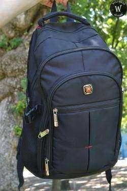 Городской рюкзак, незаменимая вещь, Stylish Men's Backpack With Zippers and Buckle Design