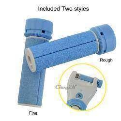 Дополнительные ролики для аккумуляторной роликовой пилки для ног.