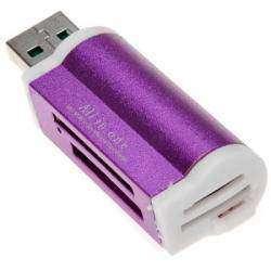 Компактный всеядный картридер все в одном  USB2.0 Memory Card Reader