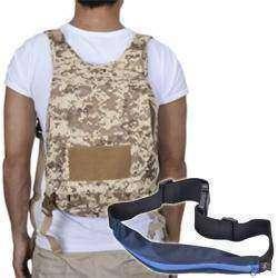 Небольшой Military-рюкзак и поясная сумочка