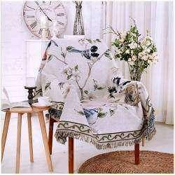 Небольшое покрывало для кресла в деревенском стиле