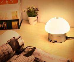 Лампа-ночник Seenda с встроенным зарядным устройством на 6 USB-портов