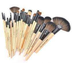 Обзор набора из 24 кистей для профессионального макияжа,реплика МАС
