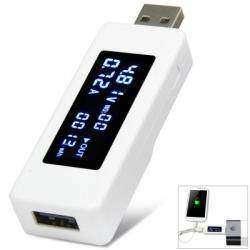 Jtron USB  тестер измеритель c OLED дисплеем и возможностью измерения потребляемой мощности