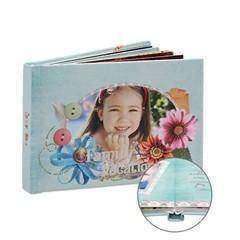 Обзор самодельной фотокниги 7'x5' на 20 фото от магазина подарков artscow
