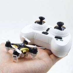 В самый маленький квадрокоптер в мире встроили камеру! Встречаем Cheerson CX-10C