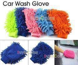 Car Wash Glove или тряпка- варежка из микро фибры.