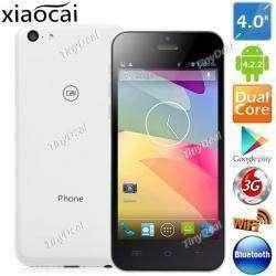 Реплика iPhone 5c – бюджетный двуядерный смартфон Xiaocai X800