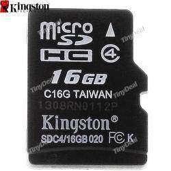 16 GB Genuine Kingston TransFlash Memory Card