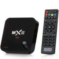 TV Box  MXIII - G (Android 5.1, воспроизведение 4Кх2К, Gigabit ethernet)