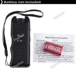 Portable Ultrasonic Dog Chaser Trainer