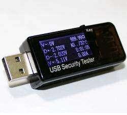 Интересный USB тестер JUWEI с большим количеством параметров