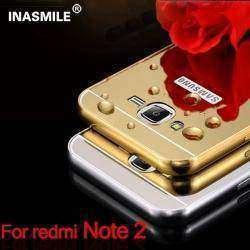 Зеркальный чехол-бампер для Xiaomi Redmi Note 2