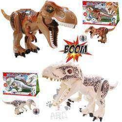 Обзор конструктора,  аналога лего из серии 'Мир Юрского периода' большого динозавра  с прогулочным шаром