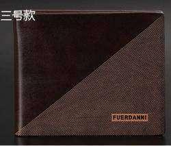 Мужской НЕ кожаный бумажник Fuerdanni