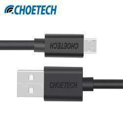 Неплохой Usb - micro Usb кабель CHOETECH 5 В 2.4A 1 метр