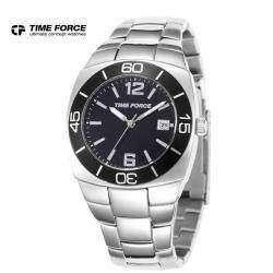 Стальные часы Time Force в спортивном стиле