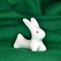 Милые керамические кролики