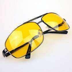 Желтые очки для вождения