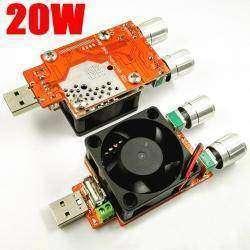 Регулируемая электронная нагрузка JUWEI - 3-20V, 0-4A, 20 Вт